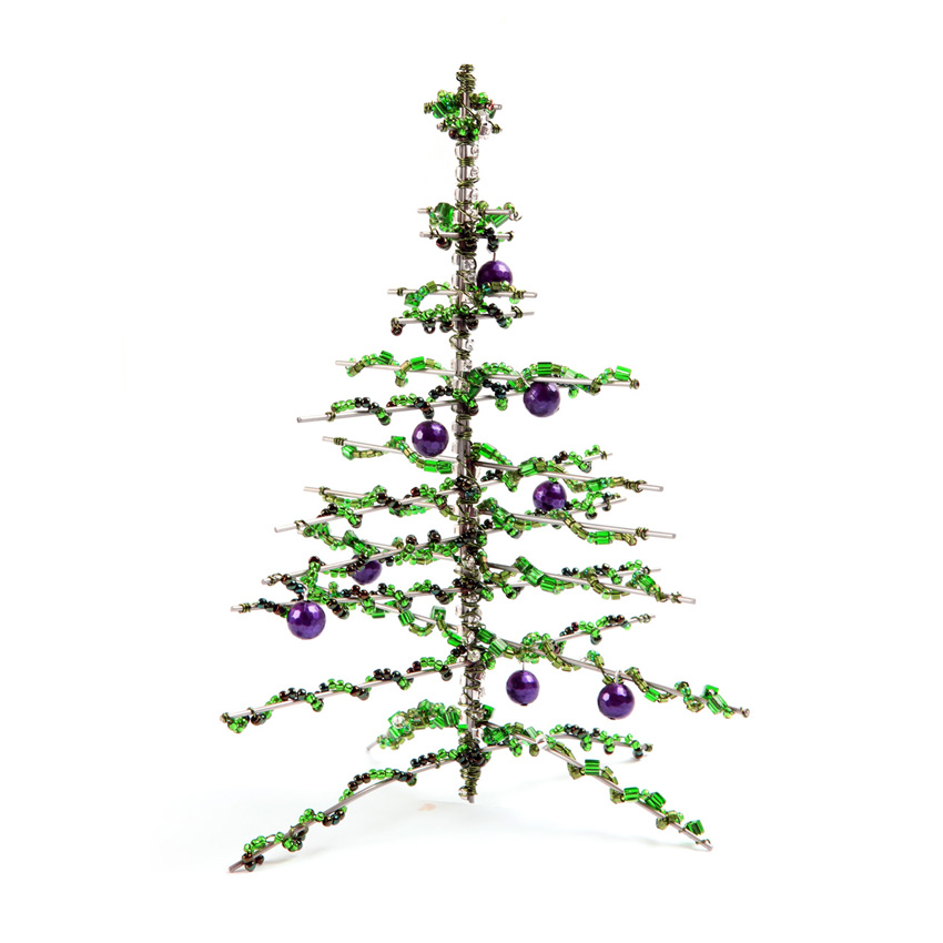 Beaded Christmas Tree