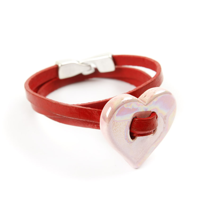 Candy Blush Ceramic Bracelet