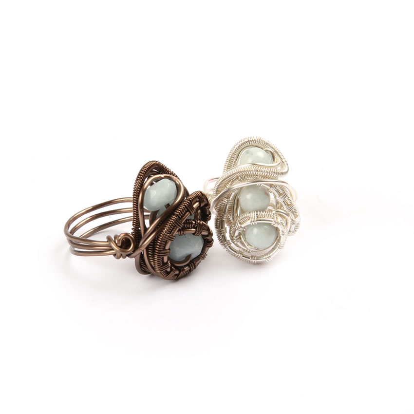 'Nest Egg' Rings
