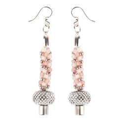 Crystal Blush Earrings