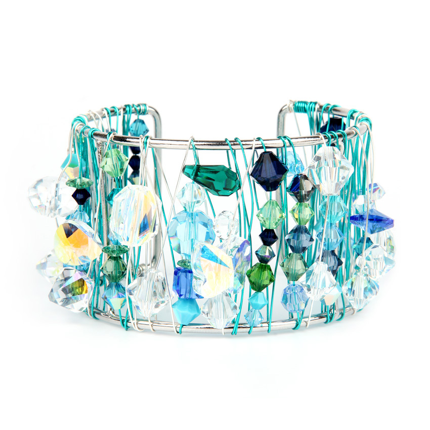 Swarovski Mermaid Bangle 'Crystal Mix Collection'