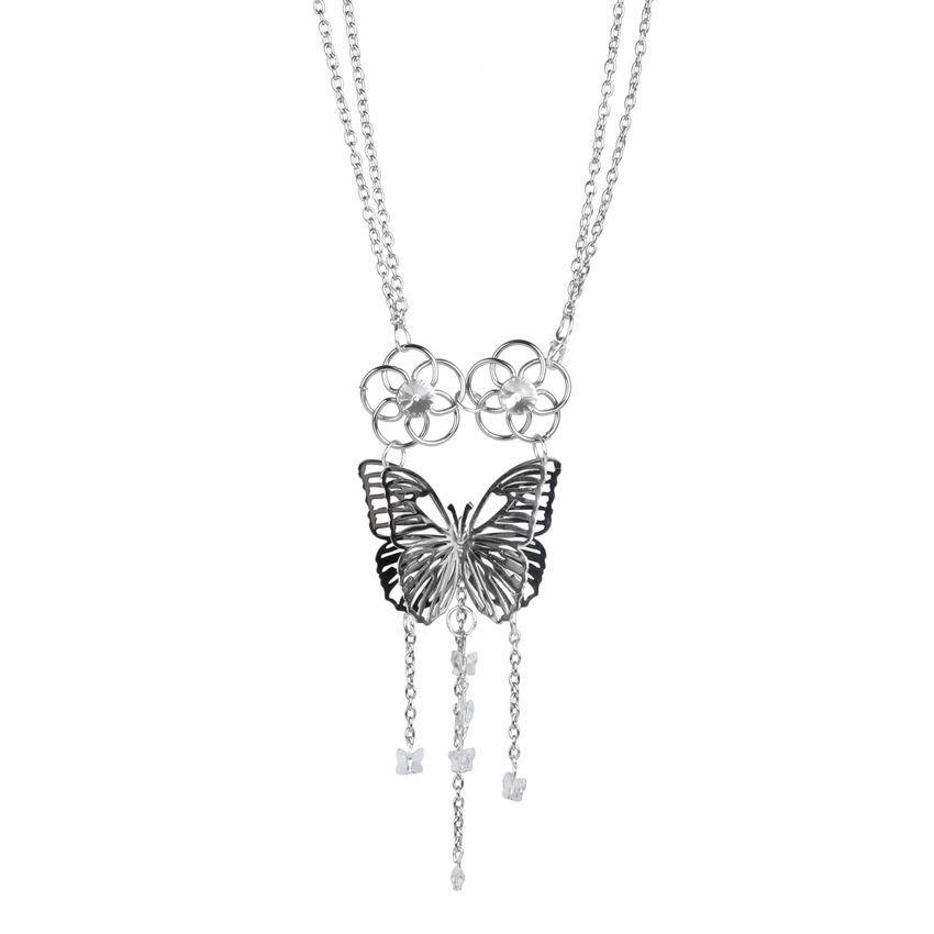 Crystal Flutter Necklace