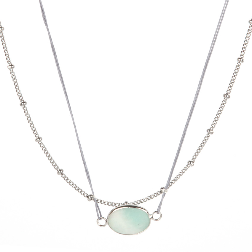 Amazonite Layer Necklace