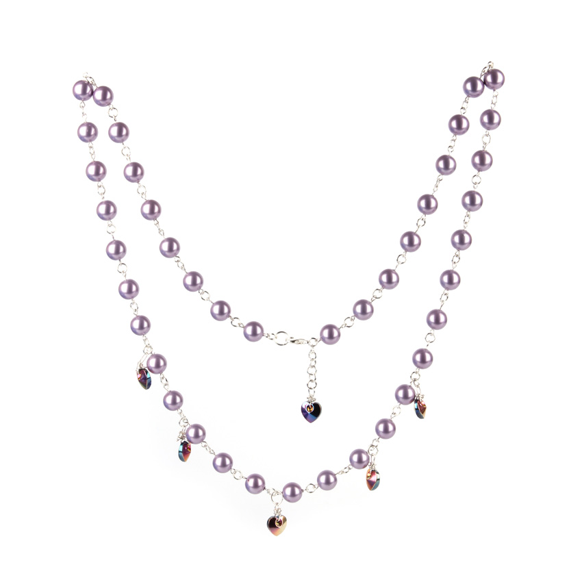 Lilac Love Necklace