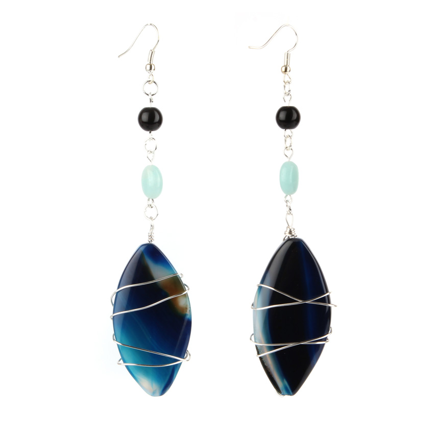 Ocean Deep Earrings