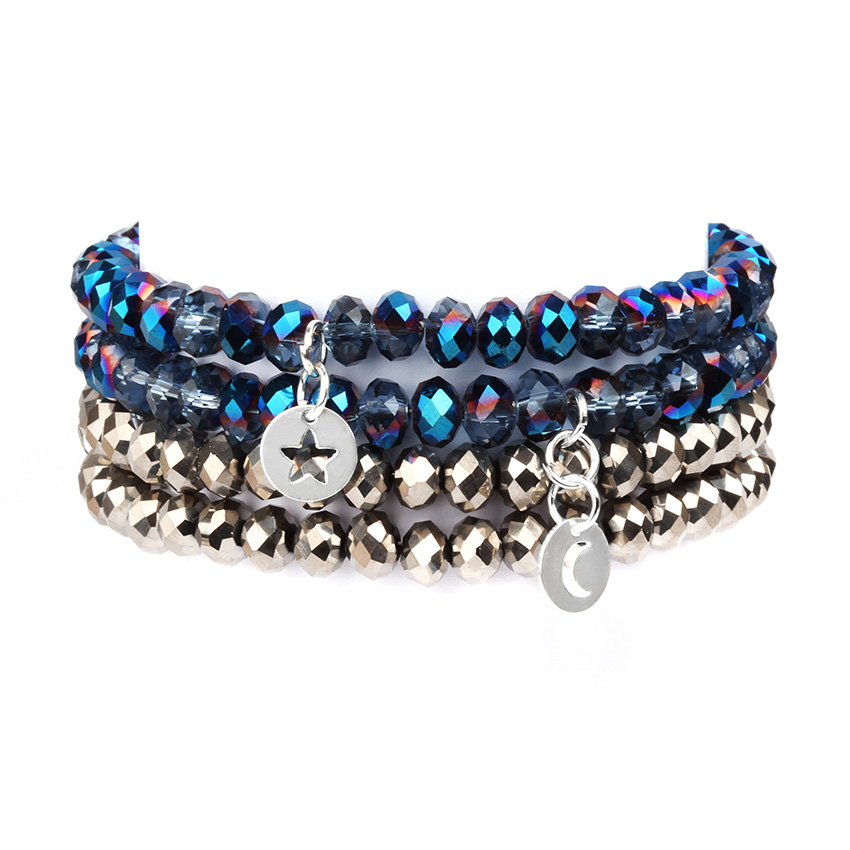 Midnight Blue Bracelet Stack