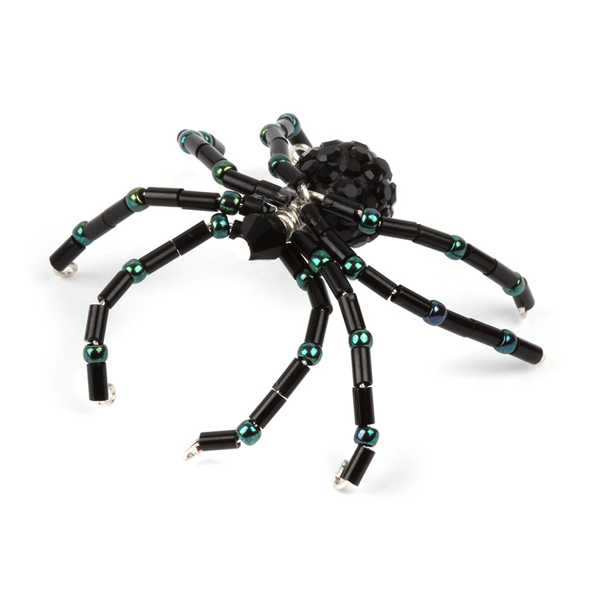 Spooky Seed Bead Spider