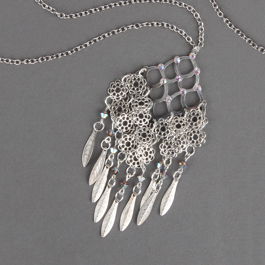 Annabelle Filigree Necklace