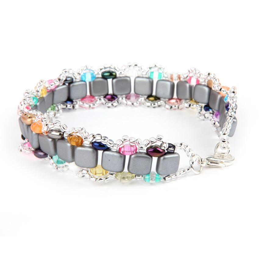 Colour Splash Tila Bliss Bracelet