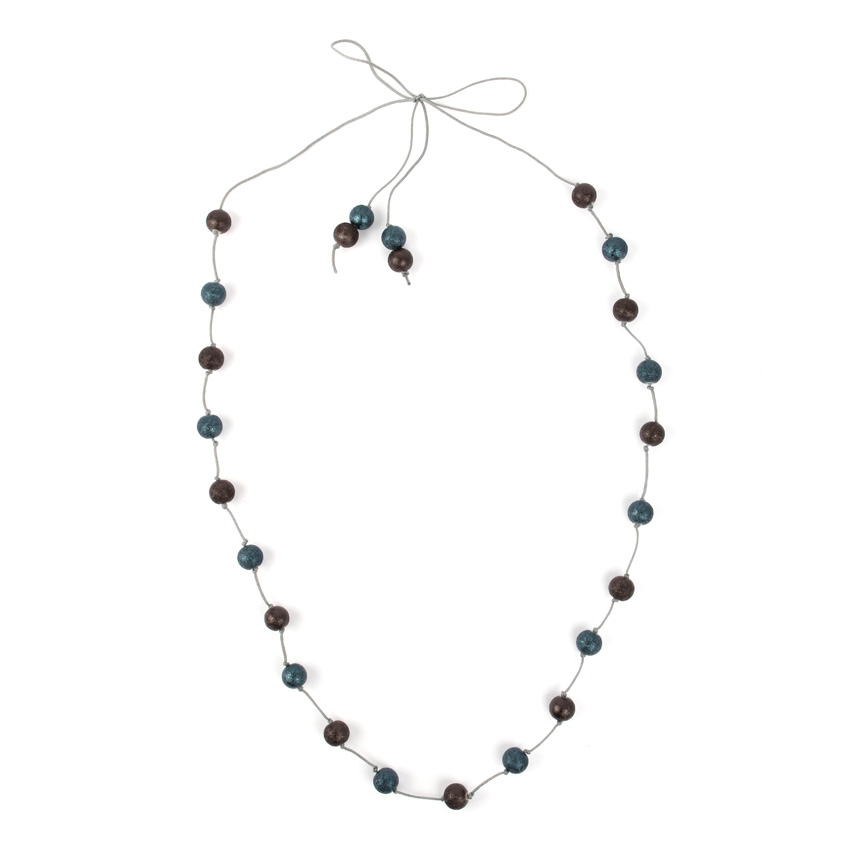 Knotted Midnight Necklace
