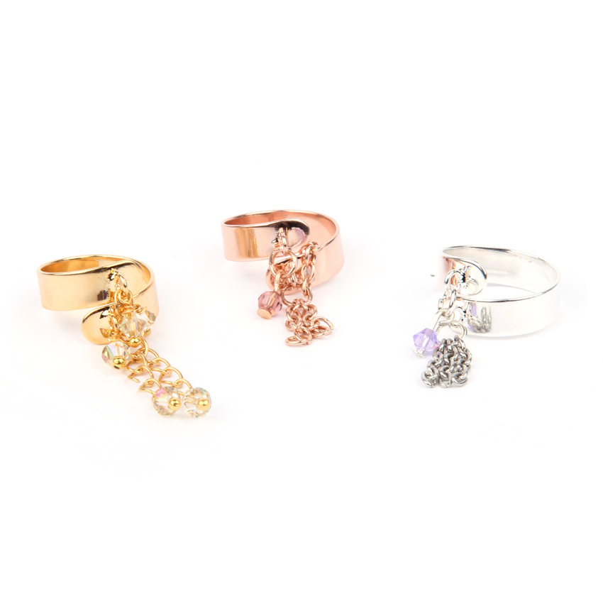 Goddess Chain Ring Set