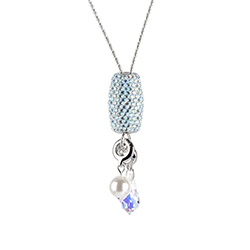 Learn how to make this stunning Alluring Sparkle Necklace