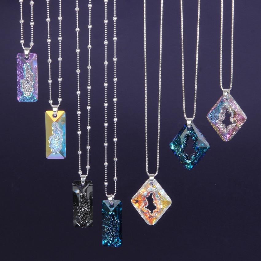 Growing Crystal Necklaces