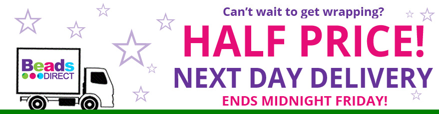 Half Price Next Day Delivery!