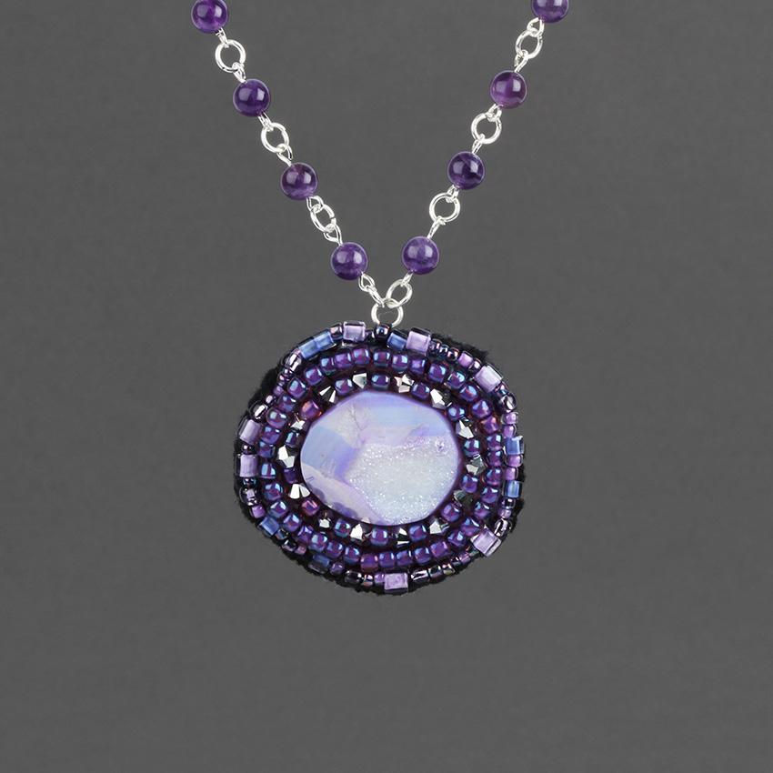 Aphrodite Amethyst Necklace