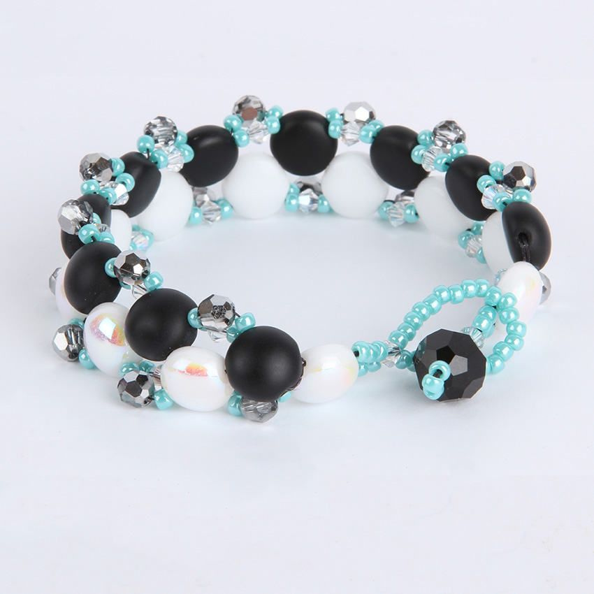 'Candy Glam' Mint Bracelet