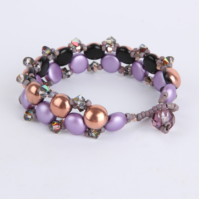 'Candy Glam' Rose Bracelet