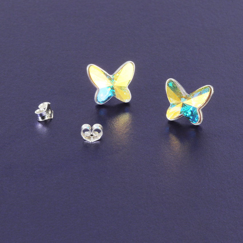 Radiance Butterfly Earrings