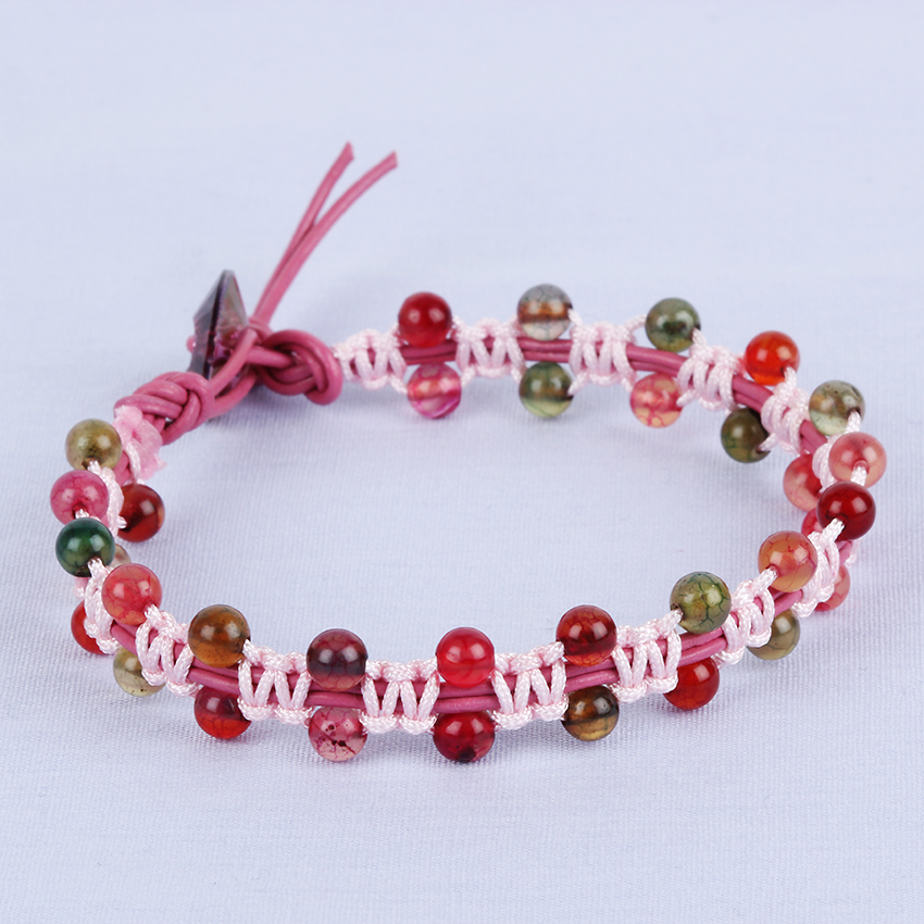 Pick 'n' Mix Macrame Bracelet