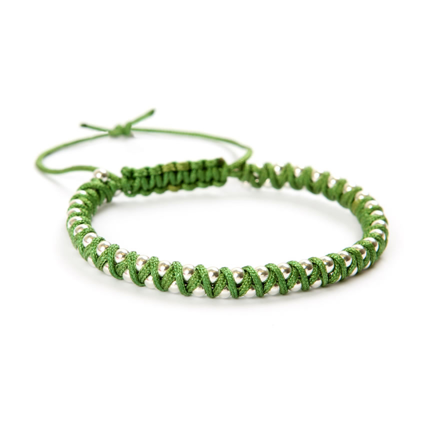 Sale Make Aztec Green Bracelet