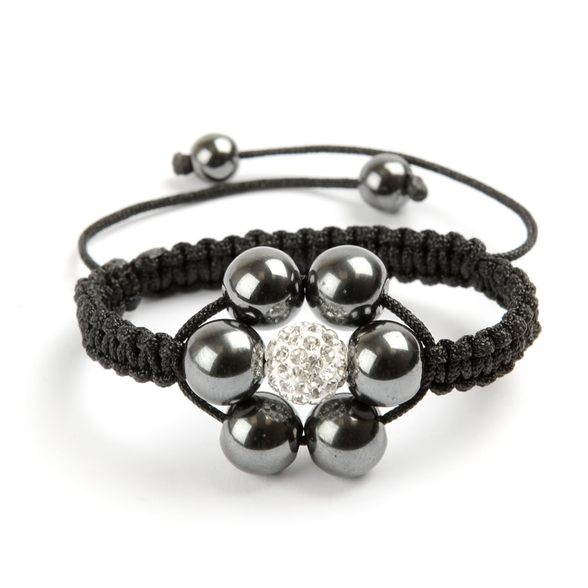 Shamballa Fashion Flower Bracelet