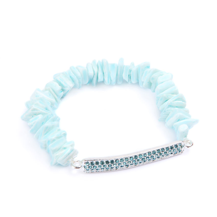 Turquoise Shell-Bar
