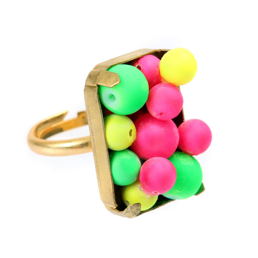 Flamboyant Flamingo Ring