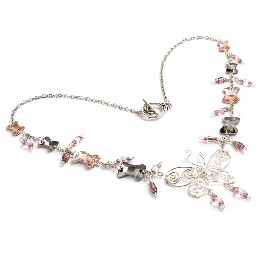'Butterfly Sparkle' Necklace