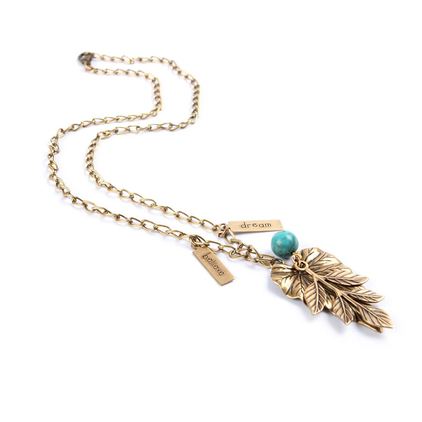 'New Leaf' Necklace