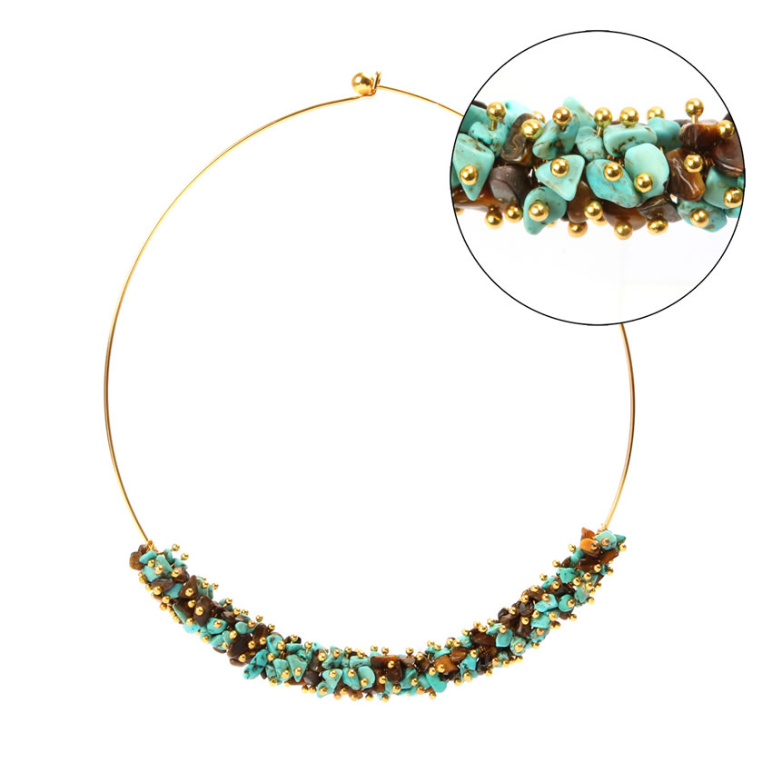 Rockpool Treasure Choker Necklace