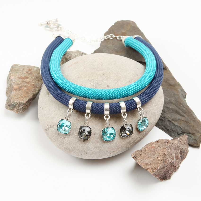 Harbour Mirage Blue Necklace