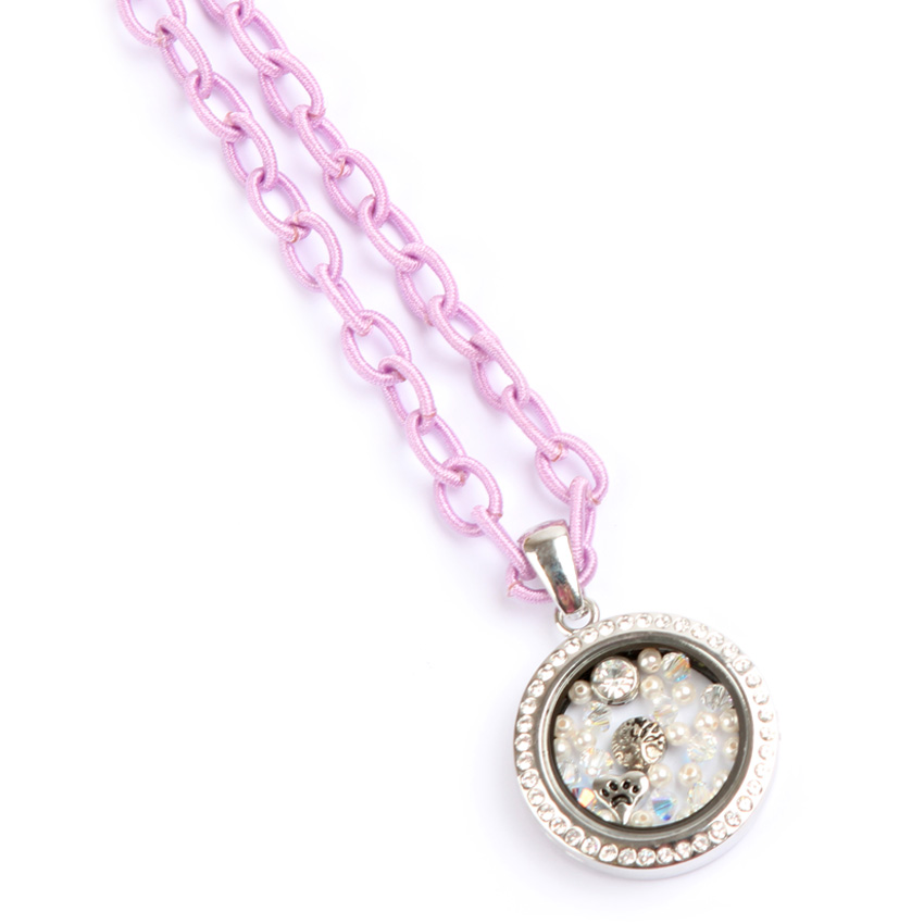 Purple, 'Keepsake' Locket