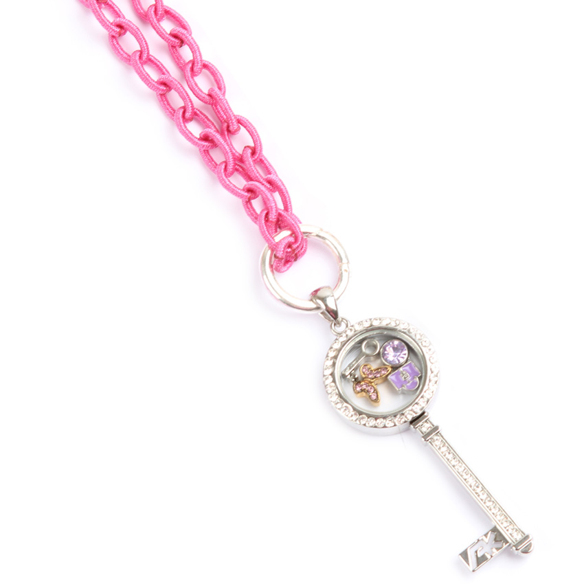 Pink, 'Keepsake' Locket