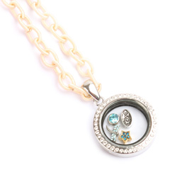 Ivory, 'Keepsake' Locket Necklace