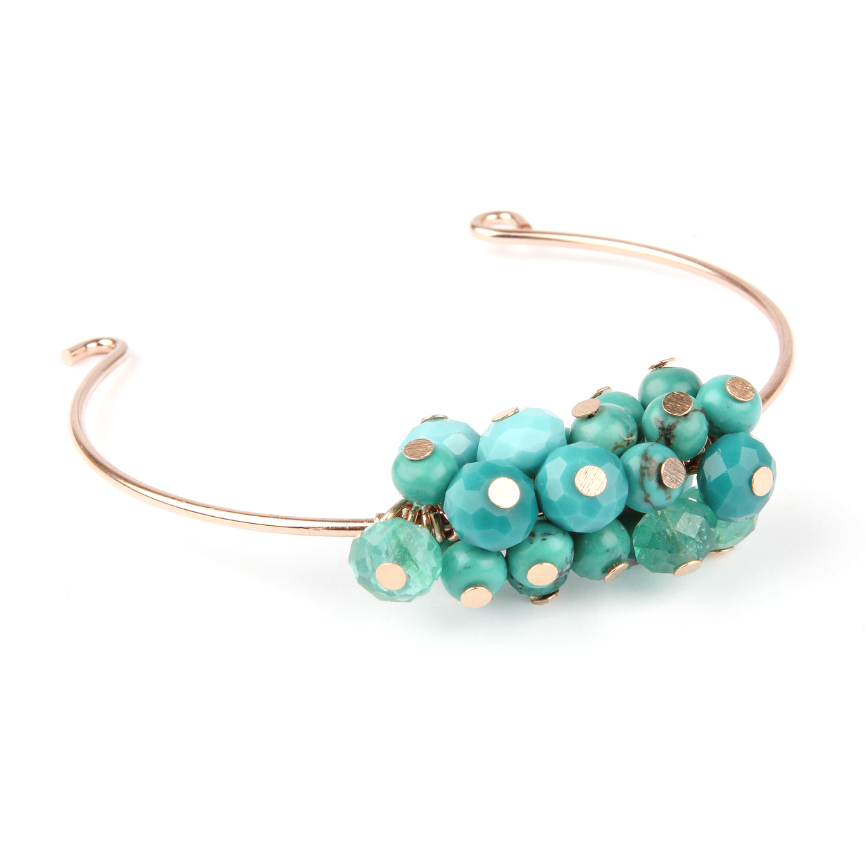 Seascape Turquoise Bangle Bracelet