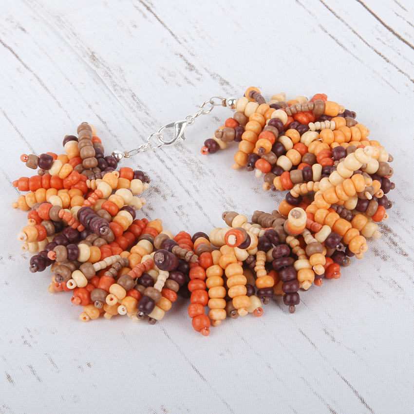 'Summer Sunset' Bracelet | National Beading Week Challenge