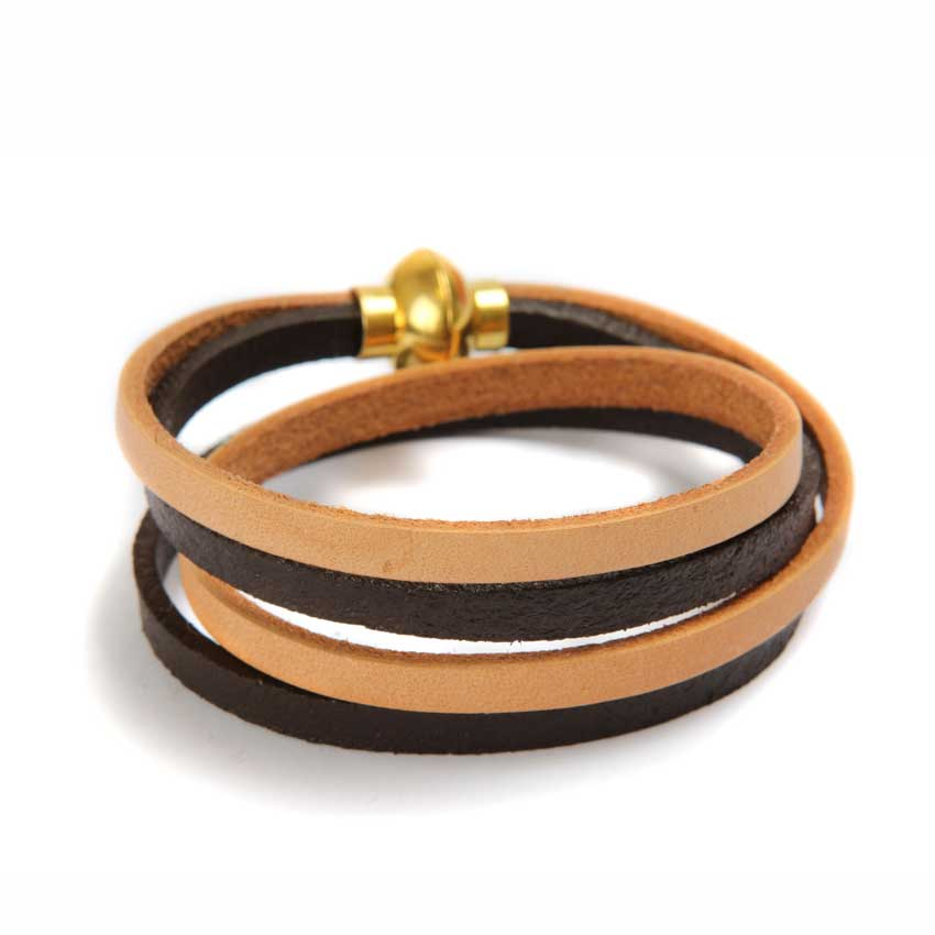 Mocha Dream Leather Bracelet