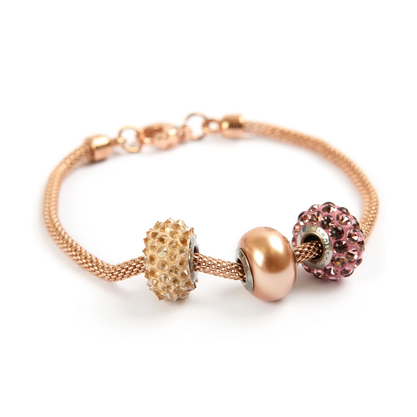 Swarovski Rose Gold Becharmed Bracelet