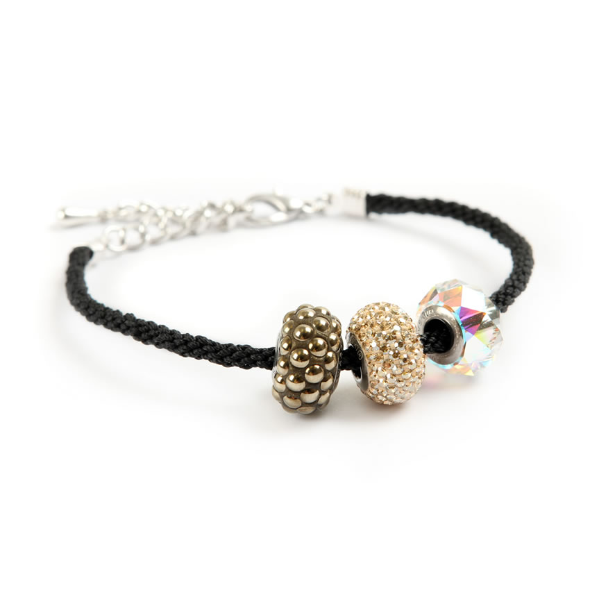 Swarovski Black Becharmed Bracelet