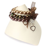 Sheer Bliss Bracelet in Bronze