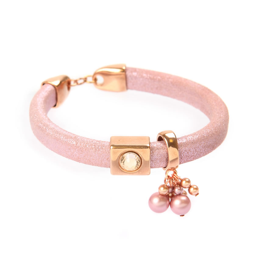 Pink Giltter Regaliz Bracelet - New In
