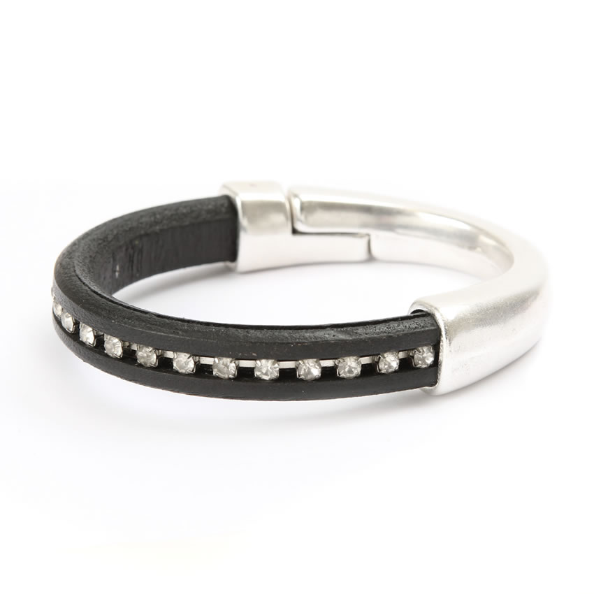 Black Sparkle Regaliz Bracelet - New In
