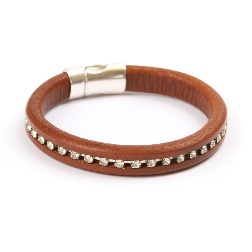 Tan Sparkle Regaliz Bracelet - New In