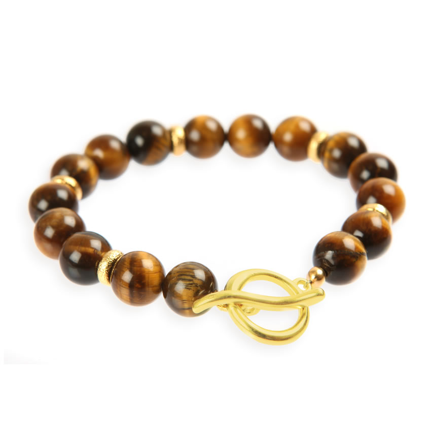 Allure Tiger Eye Bracelet