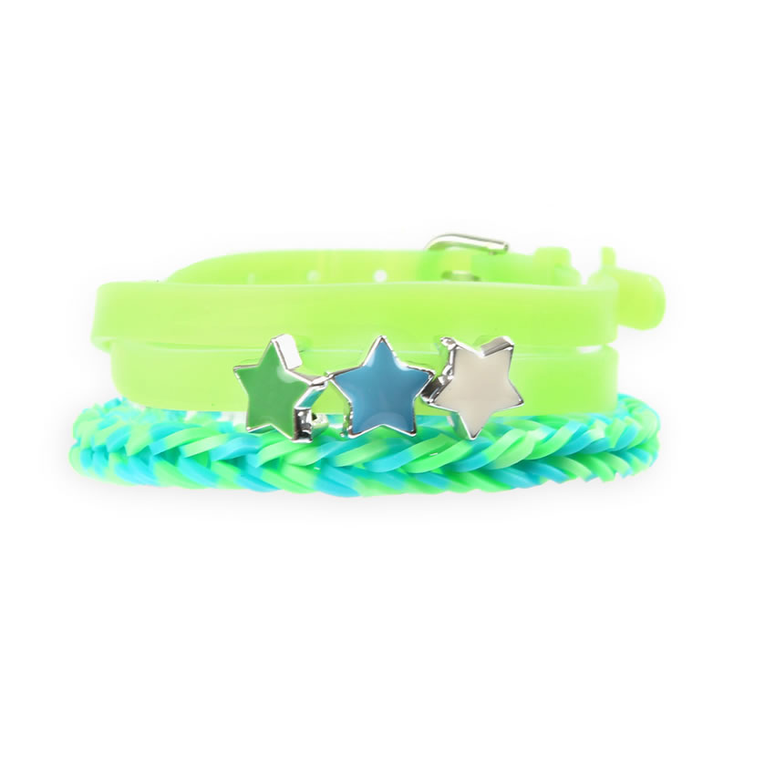 Lime Green 'Colour Pop' Bracelet