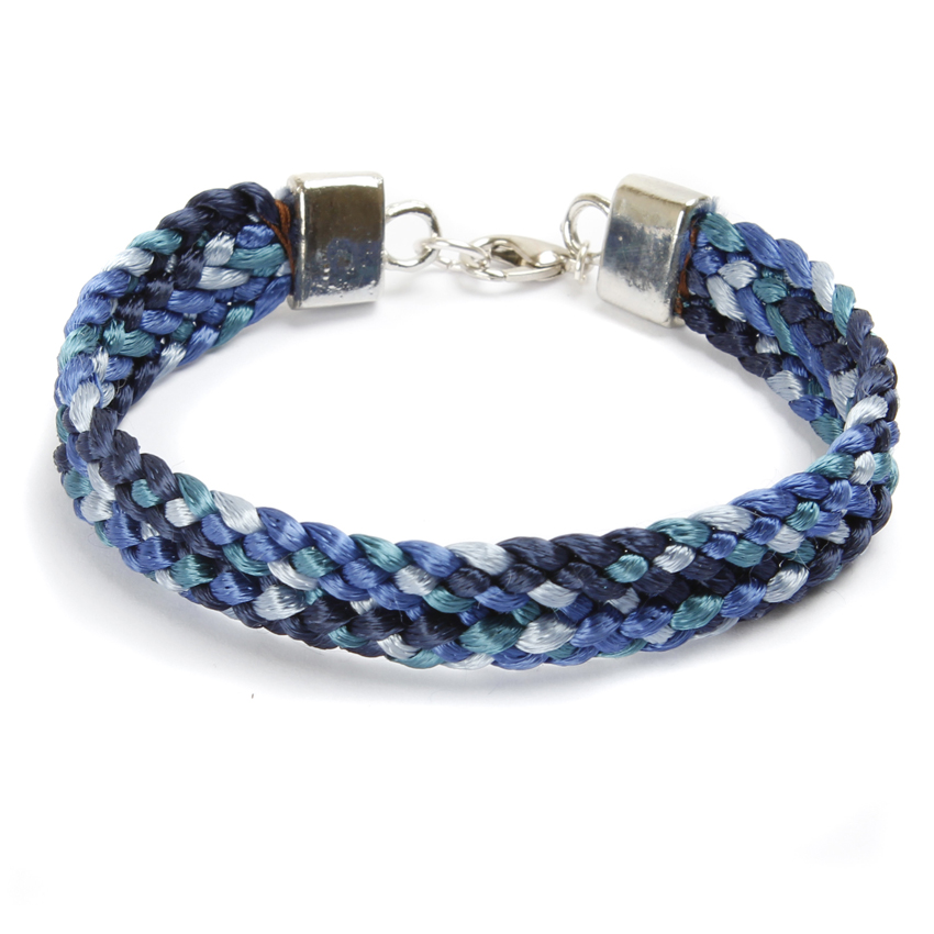 Flat Braid Kumihimo Friendship Bracelet