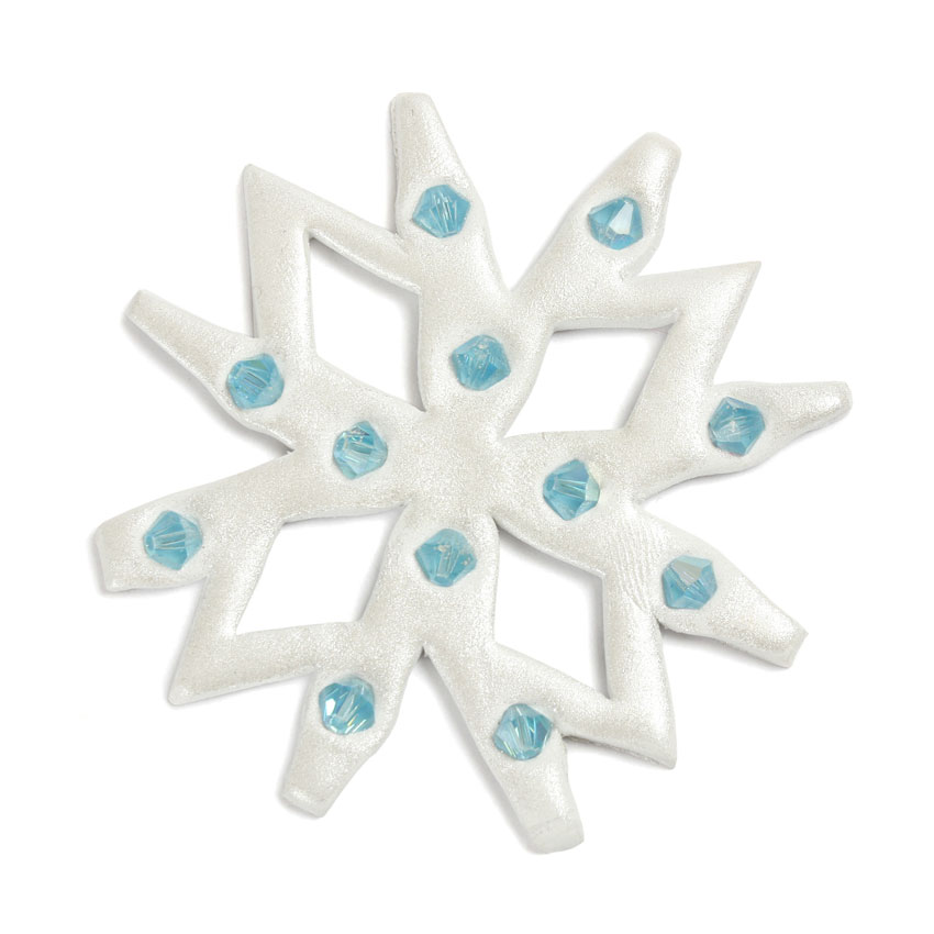 Resin Clay Snowflake