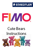 FIMO Cute Bears Instructions