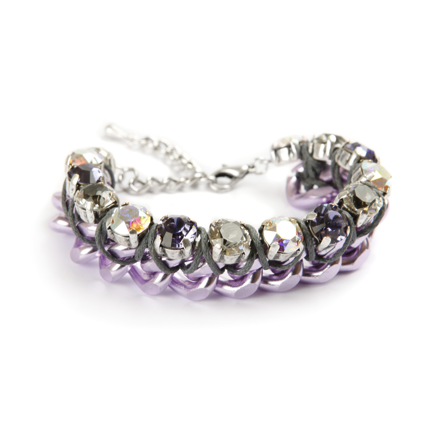 Aurora Ice Bracelet in Purple