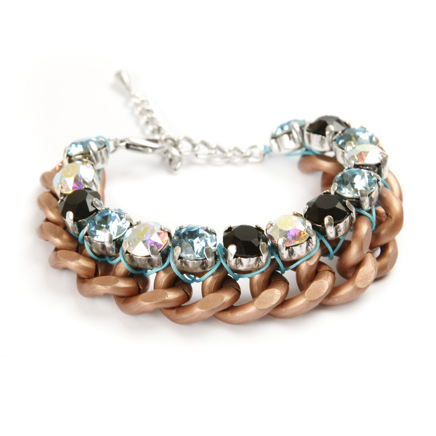 Aurora Ice Bracelet in Copper